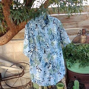 Trader bay Aloha shirt